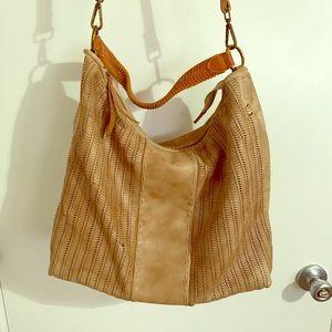 SOLD! Tan hobo purse